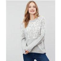 Niamh Leopard Intarsia Relaxed Fit Jumper