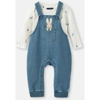 Denim Peter Rabbit Wilbur Denim Dungaree Set  Size 9M-12M