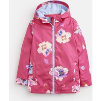 BRIGHT PINK FLORAL Raindance WATERPROOF RUBBER COAT 1-12yr  Size 2yr