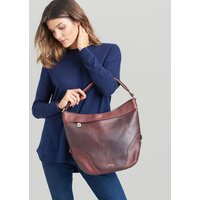 Oxblood Lowesby Leather Hobo Bag  Size One Size