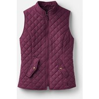 Italian Plum 207521 Quilted Gilet  Size 14