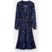209130 Long Sleeve Wrap Tea Dress