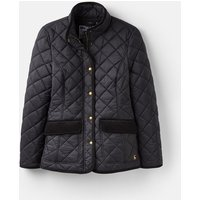 TRUE BLACK 204512 Quilted Coat  Size 14