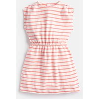 Cream Pink Stripe Annabel Jersey Printed Dress 1-6Yr  Size 2Yr