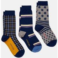 Striking 3 Pk Cotton Socks