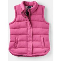 HOT PINK 204515 Padded Gilet  Size 10