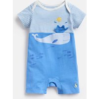 WHITBY BLUE STRIPE 204674 Novelty 3D Bodysuit  Size 9m-12m