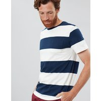 Rugby Tee Striped Crew Neck T Shirt