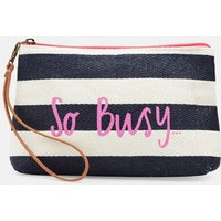 Navy So Busy Como Clutch Bag  Size One Size