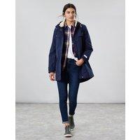 Coast Cosy Mid Length Fleece Lined Waterproof Jacket