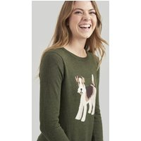 GREEN DOG Miranda Intarsia Jumper  Size 14