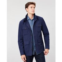Oakes Multi Pocket Cotton Military Jacket