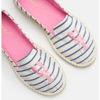 White Lobster Stripe Flipadrille Lightweight Summer Shoe  Size Adult 6