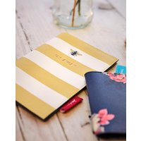 Gold Bee Stripe Passport Case Antique Gold Bee Stripe  Size One Size