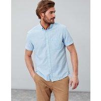 Blue Westway Lightweight Short Sleeve Classic Fit Shirt  Size L