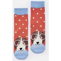 PINK SPOT DOG Neat feet Character Socks  Size Size 13-3