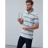 Grey Stripe Filbert Striped Classic Fit Polo  Size M