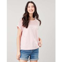 Cassi Grown On Sleeve Jersey Top