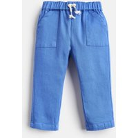BLUE Ethan Lightweight Woven Twill Trousers  Size 0m-3m