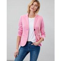 Soft Pink Mollie Jersey Blazer  Size 10