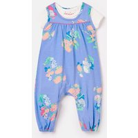 Olive Cotton Jersey Jumpsuit Set 0-24 Months