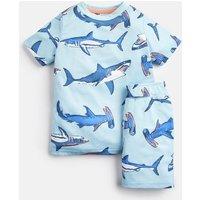 Aqua Hammerhead Sharks Arnie Short Pyjama Set 1-12 Yr  Size 2Yr