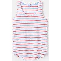 Blue Red Stripe 204537 Basic Vest  Size 14