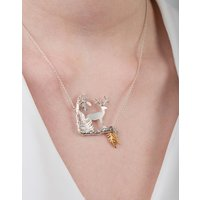 Stag Scene Necklace