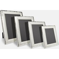 Hammered Silver Photo Frame
