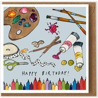 Art & craft Happy Birthday Greeting Card