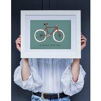 On My Bike Fine Art Print