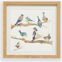 Bird Garden Party Framed Print