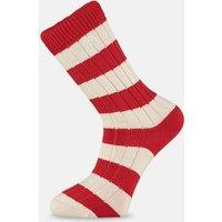 Red & White Striped Socks