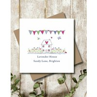 Personalised Sweet Home Greeting Card