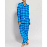 Tartan Brushed Cotton Pyjamas