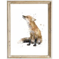 Fox  Hare and Pheasant Print Collection