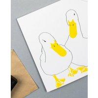 Ducks In love Card