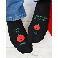 Personalised Love you from my Head To-ma-toes Socks