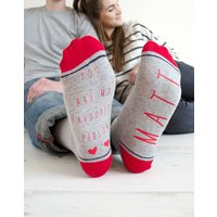 My Favourite Person Personalised Socks