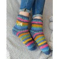 Personalised Rainbow Sofa Socks