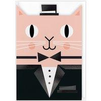 Dapper Cat Card