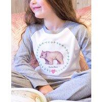 Personalised Bear Children's Pyjamas 0-10 Years