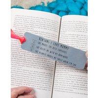 Personalised Reasons I Love You Bookmark