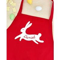 Personalised Children's Bunny Rabbit Apron