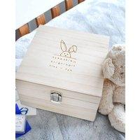 Personalised New Baby Memory Box