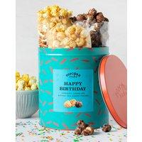 Happy Birthday Popcorn Gift Tin  400g