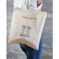 Personalised Original Welly Boot Tote Bag