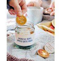 Personalised Couples Date Ideas Jar