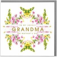 Foxgloves Wonderful Grandma Birthday Card