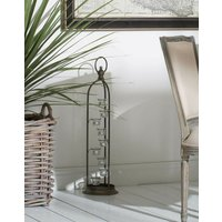 Tall Metal Candle Holder